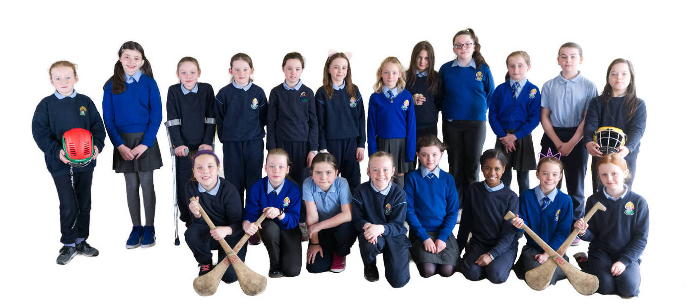 St Finian's National School Camogie Team