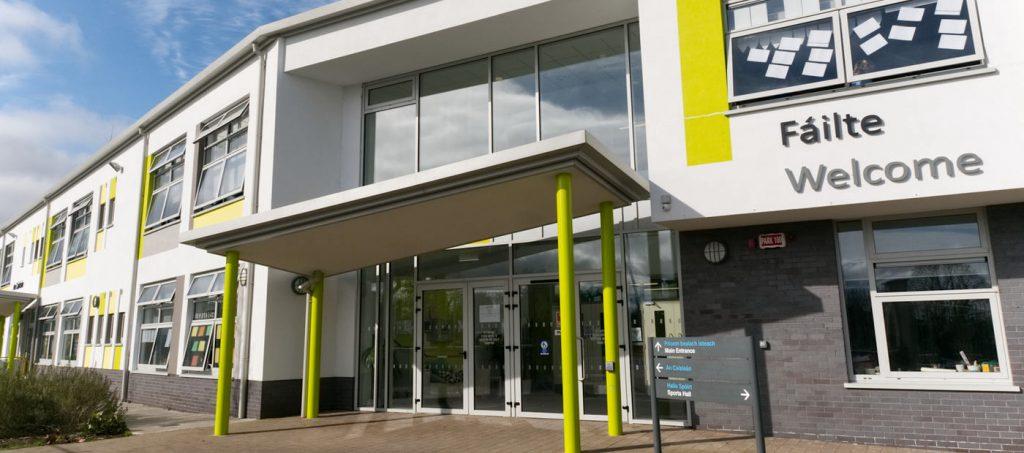 St Finian's school main entrance
